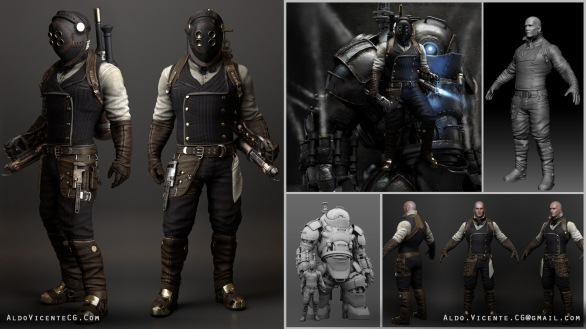 Cmivfx Character Concept Design Maya And Vray : Aldo vicente cg